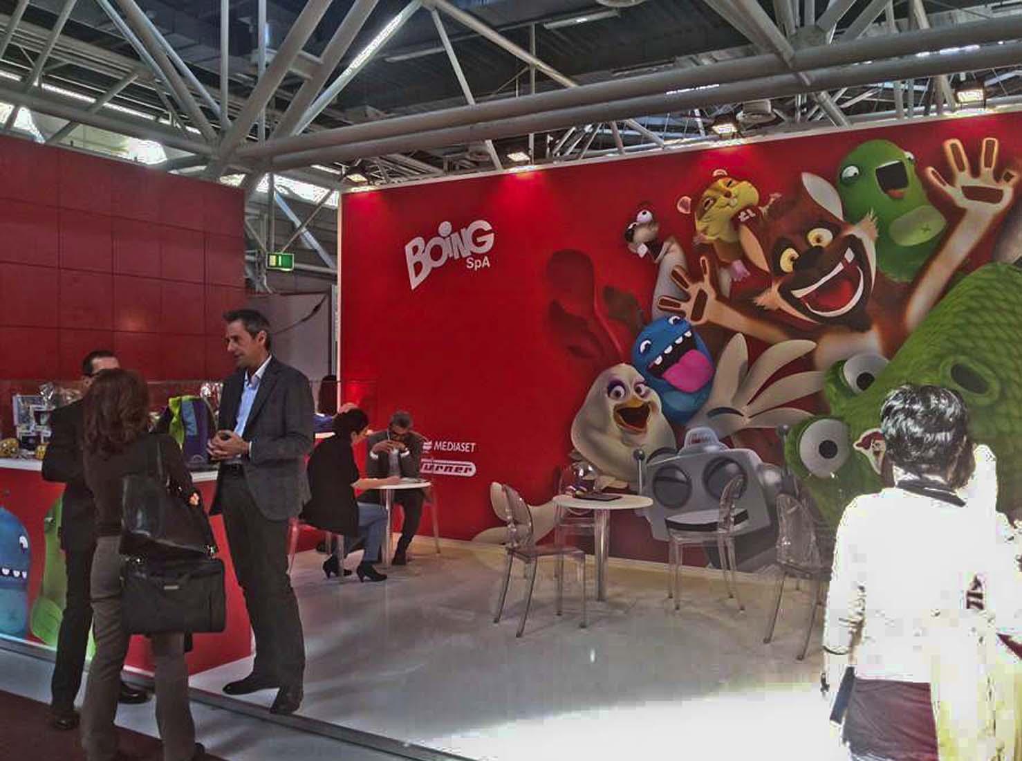 Восьмая ежегодная Лицензионная выставка в Болонье