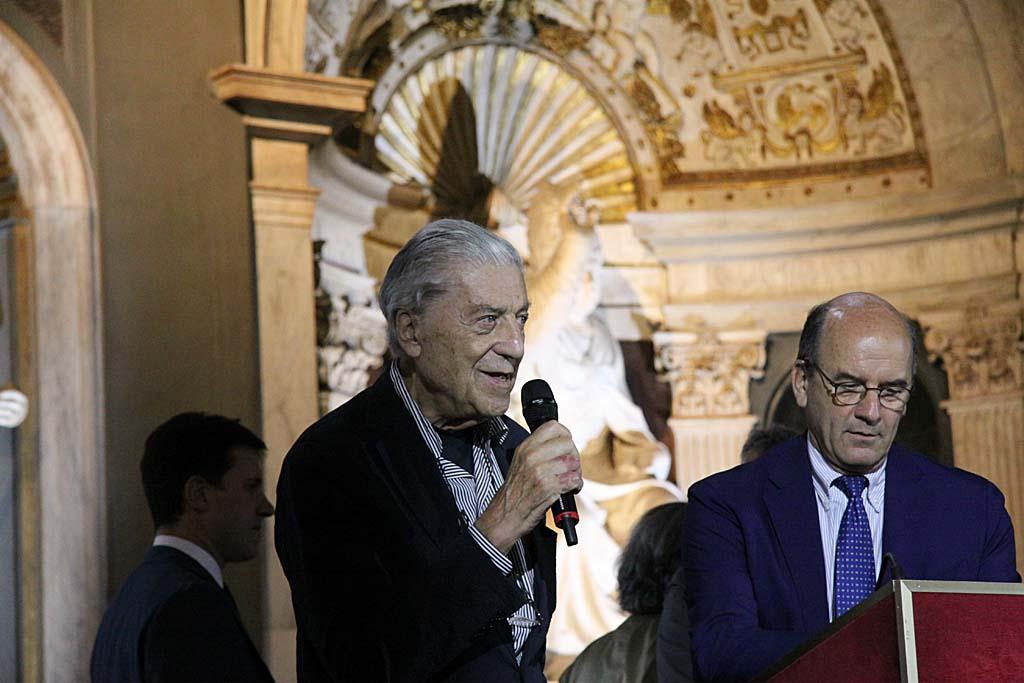 Нино Черрути на открытии Pitti Uomo 88