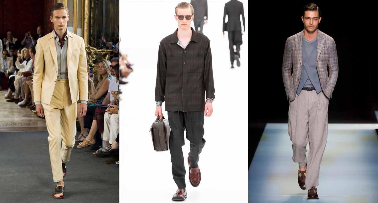 Тенденции мужской моды 2016 Corneliani, Ermenegildo Zegna, Giorgio Armani