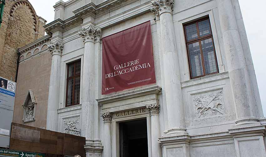 Галерея Академии, Венеция фото: Браунпо CC BY-NC-ND