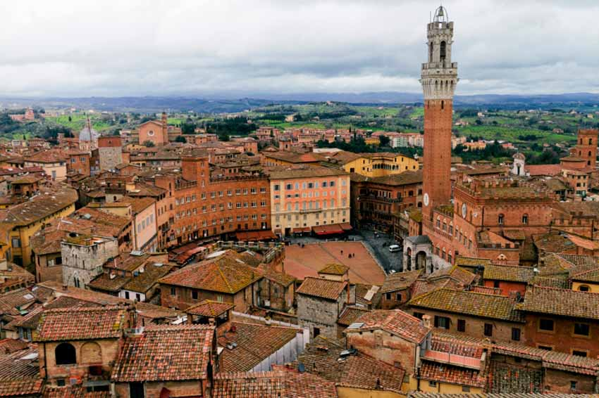 Сиена, Италия – достопримечательности Thinkstock