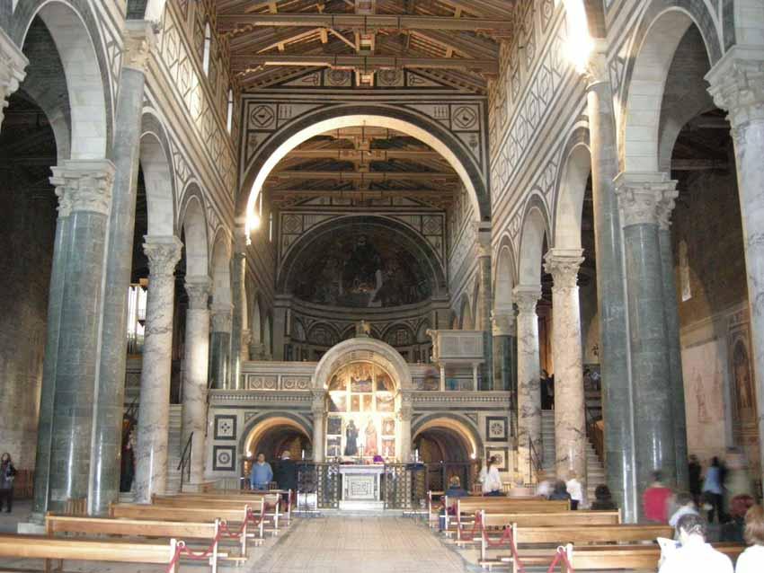 Церковь Сан-Миниато-аль-Монте