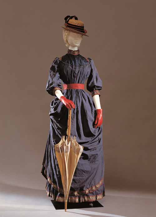 "Haute couture Парижа, ""M.me Callot, Paris"", женское платье 1884"