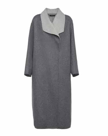 Antonelli Firenze шерстяное пальто double в стиле oversize 948 евро