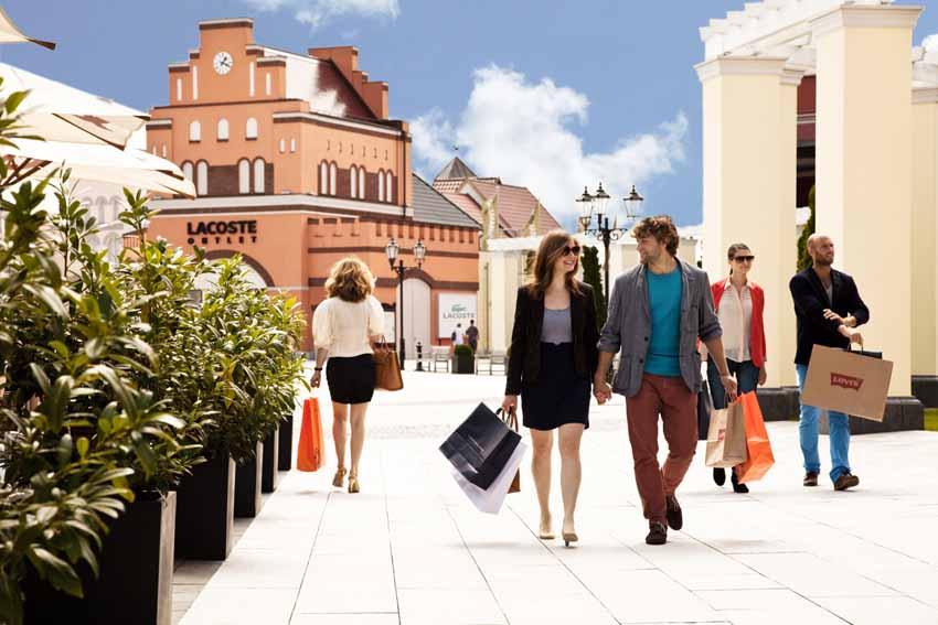 Новогодний шоппинг в европейских аутлетах