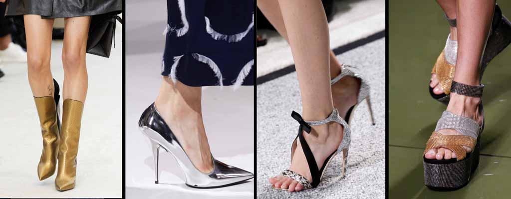 Женская мода на обувь весна лето 2017 год