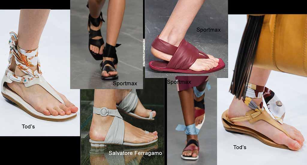 Модные тренды весна лето 2018 года: сандалии