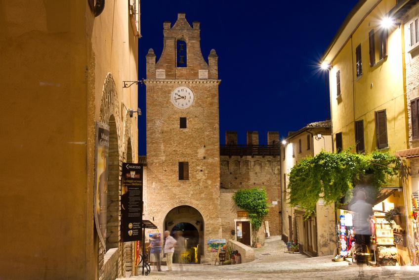 Градара — итальянский городок недалеко от побережья, располагается в регионе Марке, в провинции Пезаро-э-Урбино