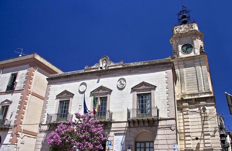 Город Корлеоне в Сицилии