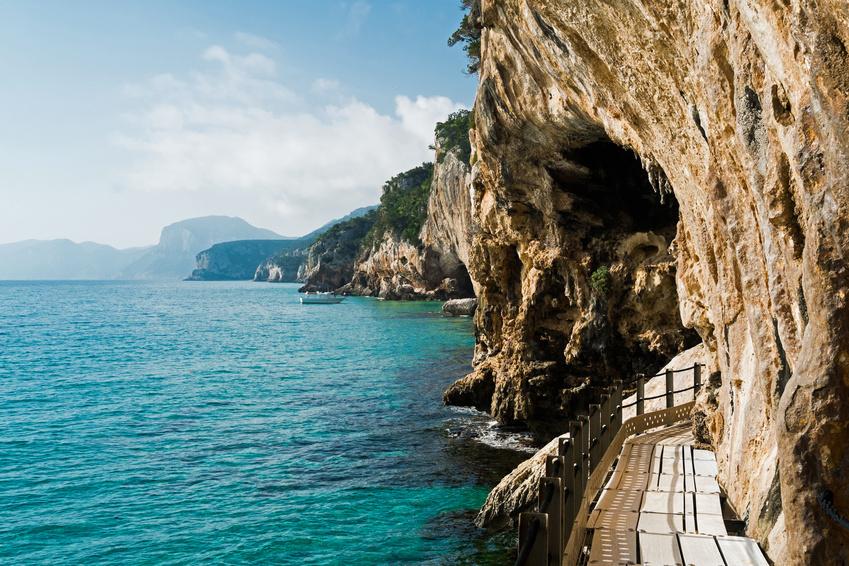 Пещера Буэ Марино, Сардиния, Италия