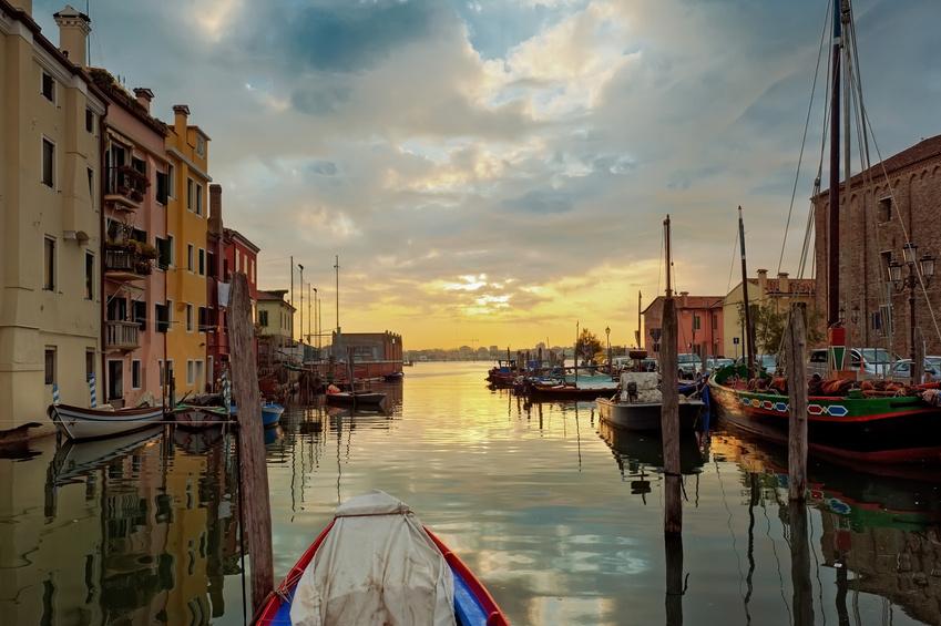 Италия. Порт Кьоджа, Венеция