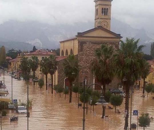 Наводненеие в Карраре