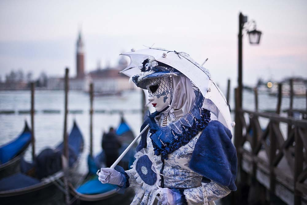 CC BY  Stefano Montagner  Venice Carnival