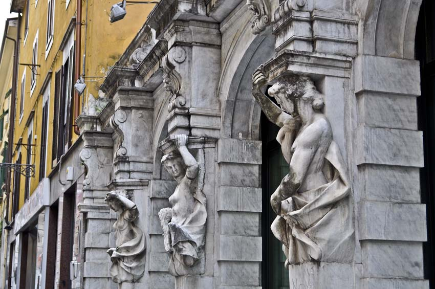 Город Каррара, Тоскана