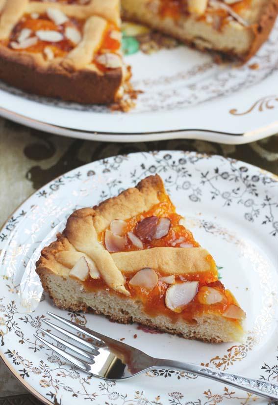 Кростата с абрикосовым джемом – рецепт итальянской кухни в домашних условиях