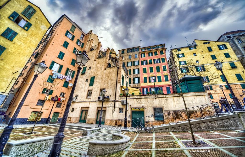Paolo Margari Дворец Дураццо, Генуя, Италия cc-by-nc
