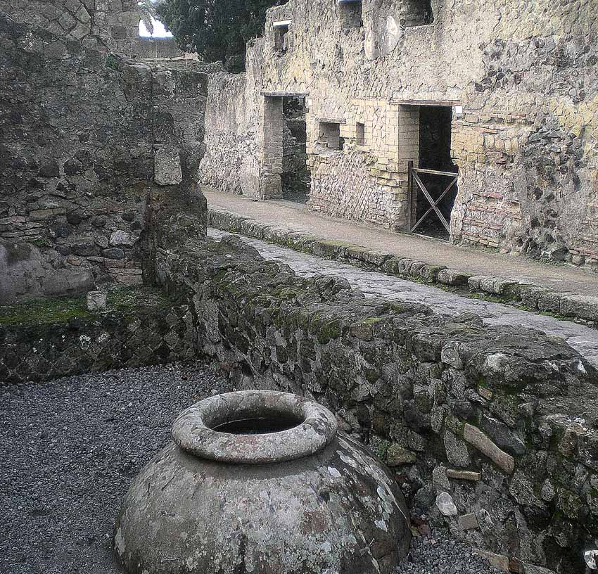Древний город Геркуланум