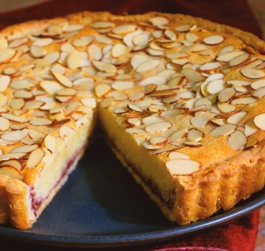 Сицилийский миндальный торт