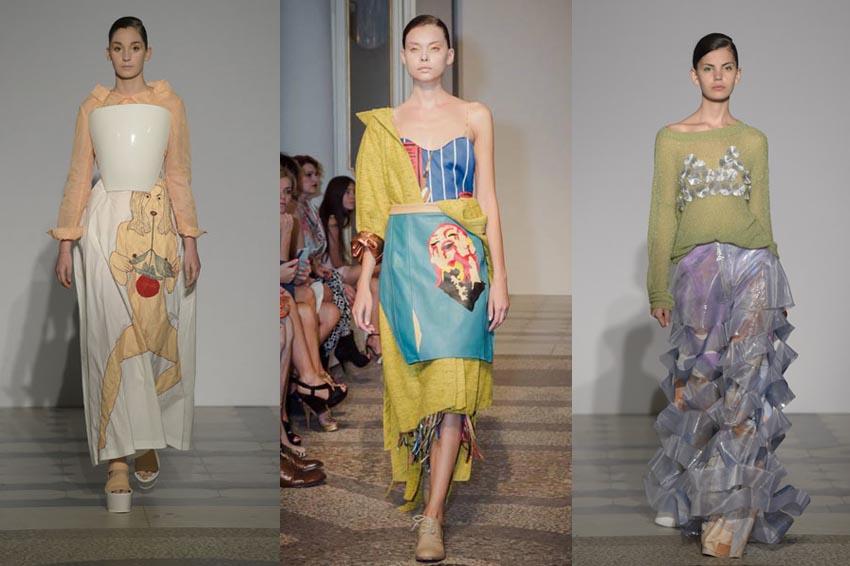 Polimoda Fashion Show:  Benedetta Bianchini, Leonor De Assis Ferreira, Anzhelika Balaeva