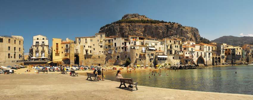 Лучшие курорты Сицилии  Cefalù, Miguel Virkkunen Carvalho, CC BY