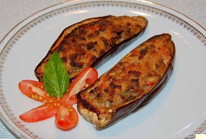 Традиционная итальянская кухня Баклажаны, фашированные алла норма