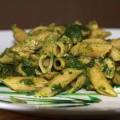 Традиционные блюда итальянской кухни – Паста со шпинатом и шампиньонами