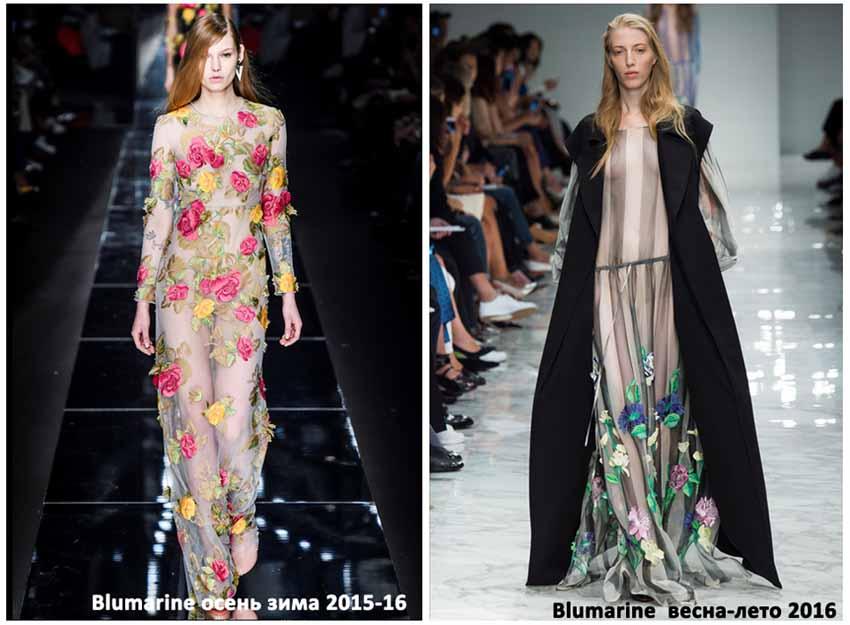 Неделя мода в Милане Blumarine, Коллекция весна-лето 2016