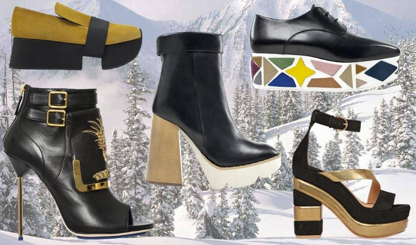 модные тенденции обуви осень-зима 2015-2016