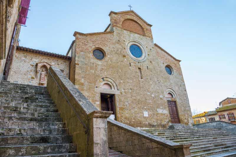 Сан-Джиминьяно, Кафедральный собор Санта-Мария-Ассунта