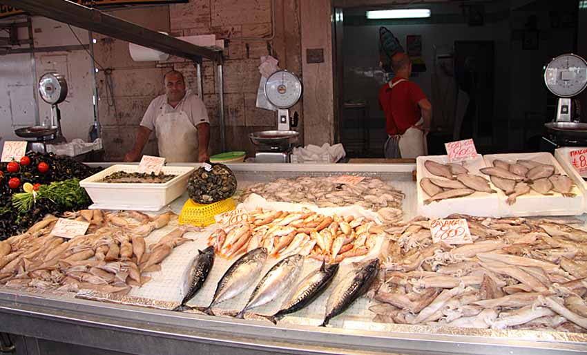 Катания – рыбный рынок