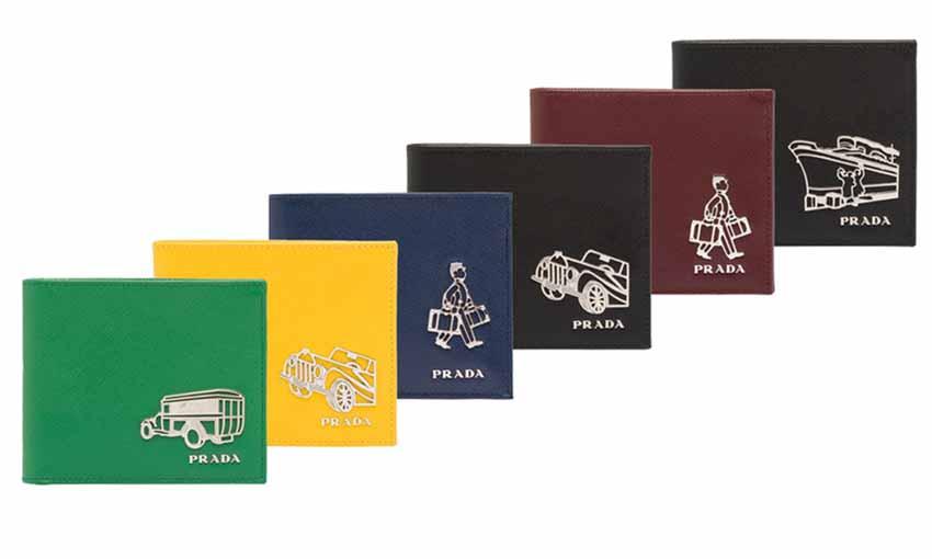 Prada: мужской кошелек – € 380,00