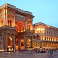 Ночной Милан, Галерея Витторио Эмануэле II