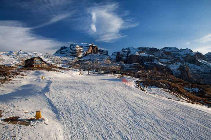 Горнолыжные курорты Италии: Мадонна ди Кампи-льо