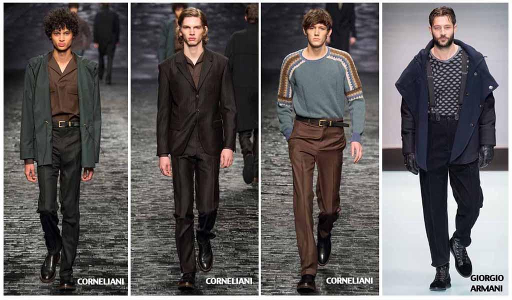 Модные мужские брюки осень-зима 2016-2017