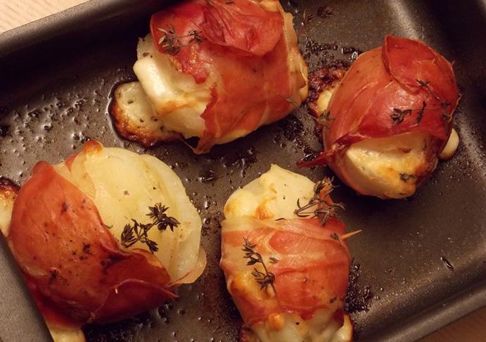 Картофель со скаморцей