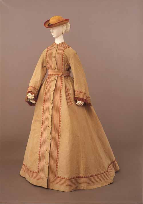 Италия, платье для сада 1865