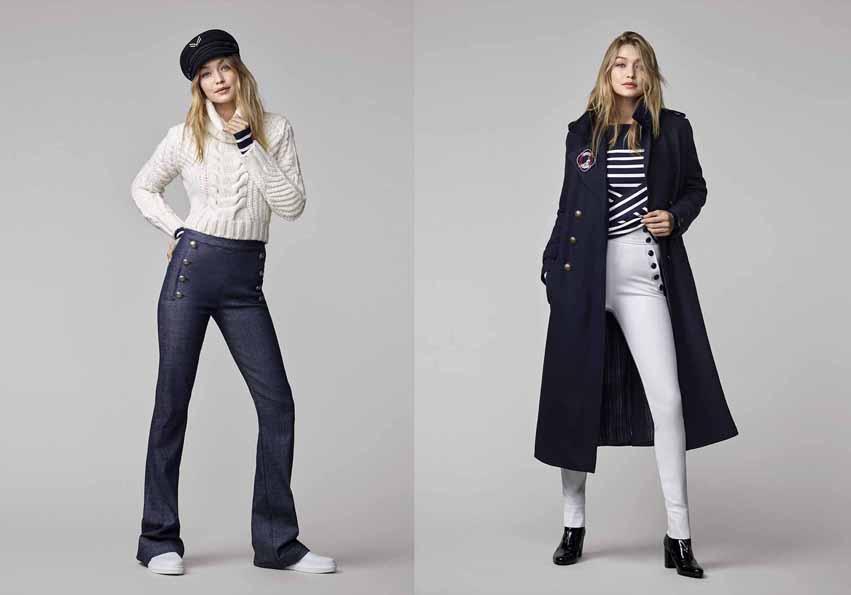 Tommy Hilfiger создали капсульную коллекцию совместно с моделью Джиджи Хадид