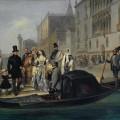 """Джулио Карлини """"Семья Толстого в Венеции"""" 1855"""