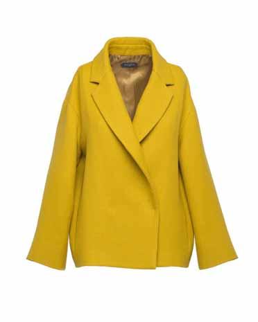 Antonelli Firenze желтый пиджак в стиле oversize 527 евро