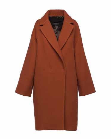 Antonelli Firenze красное пальто 621 евро