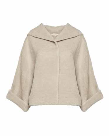 Antonelli Firenze пальто альпака в стиле oversize 856 евро