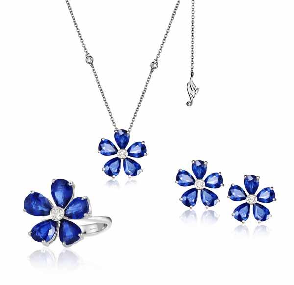 Mercury – дизайнерские ювелирные украшения из коллекции Flower