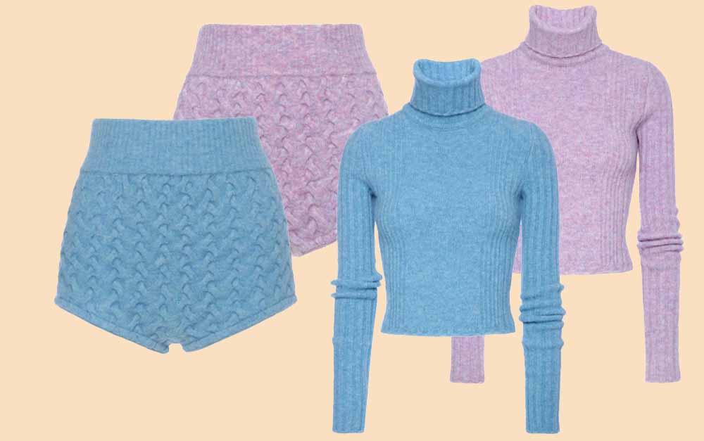 Зимние шорты от Blumarine 2016