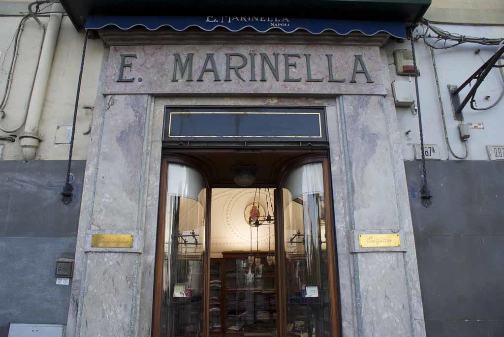 Магазин марки E. Marinella в Неаполе