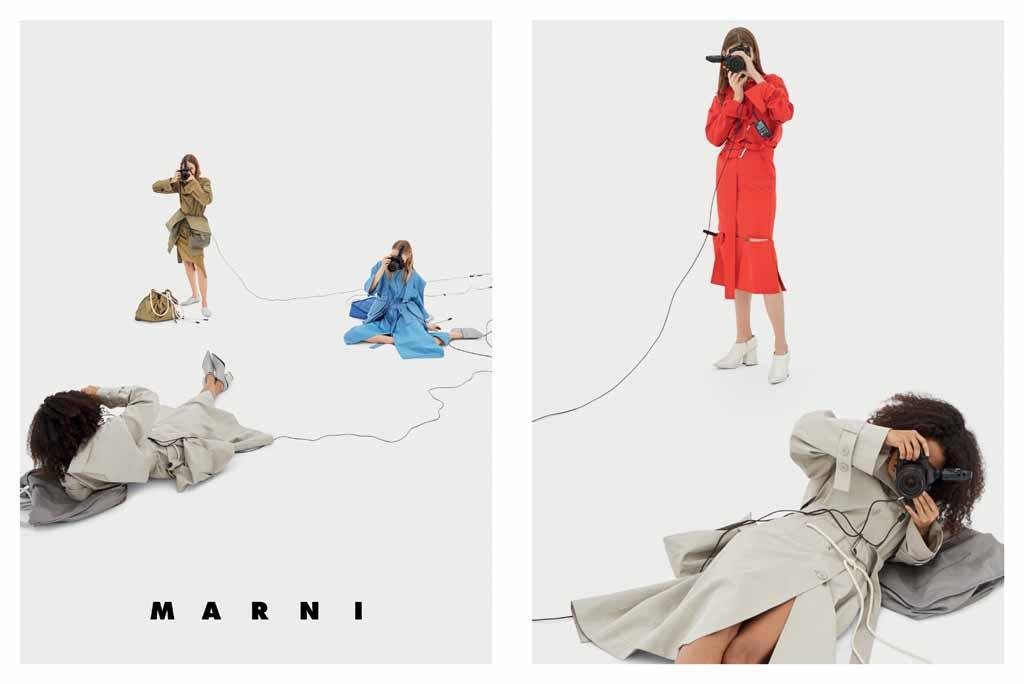Новая рекламная кампания Marni Весна-лето 2017