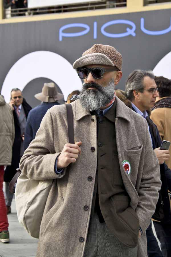 Streetstyle на Pitti Uomo 2017