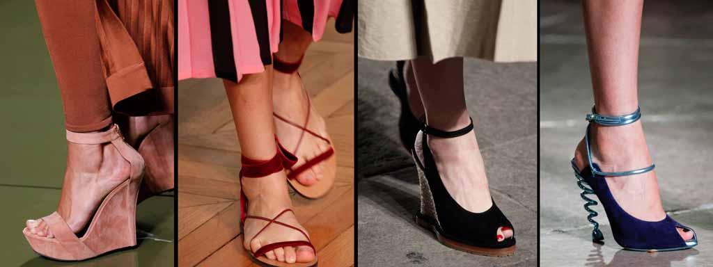 Женская мода весна лето 2017 год, обувь