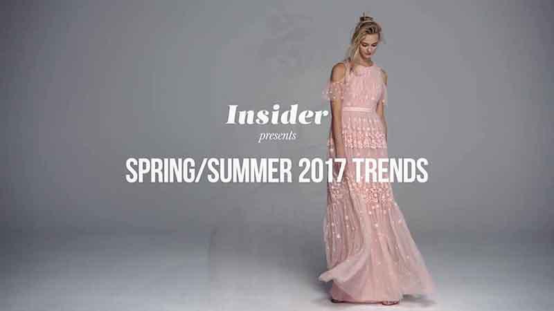 Модные тренды в одежде весна-лето 2017