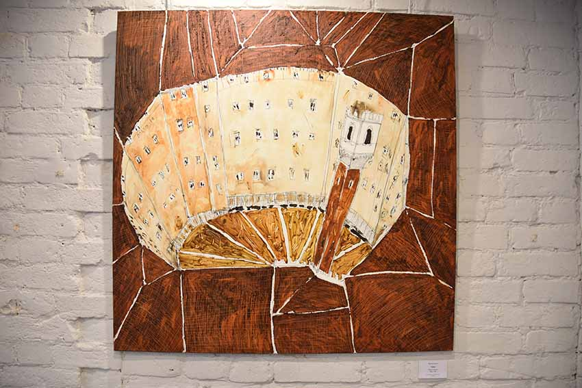 открытие выставки «ГРОХОТ ГОРОДА» итальянского живописца Маттео Боато
