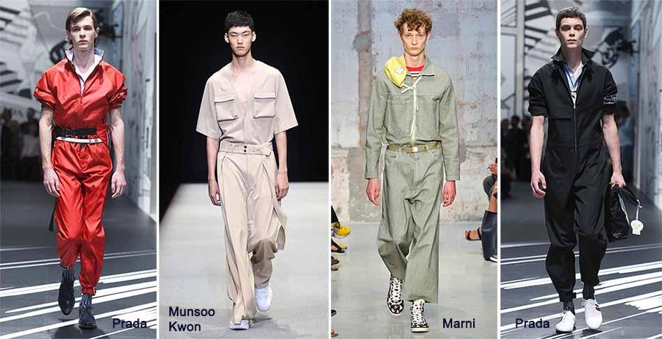 мужская мода лето 2018